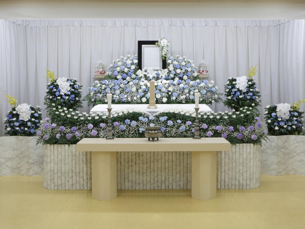 愛典100花祭壇