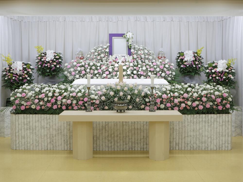 愛典120花祭壇