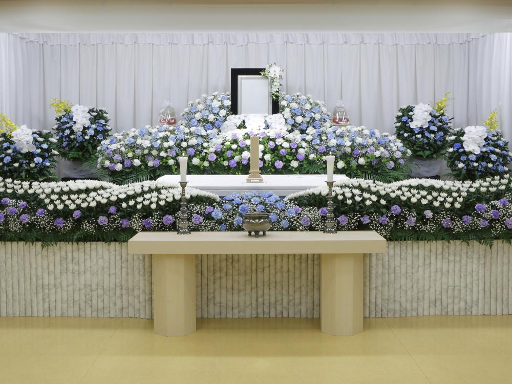 愛典150花祭壇