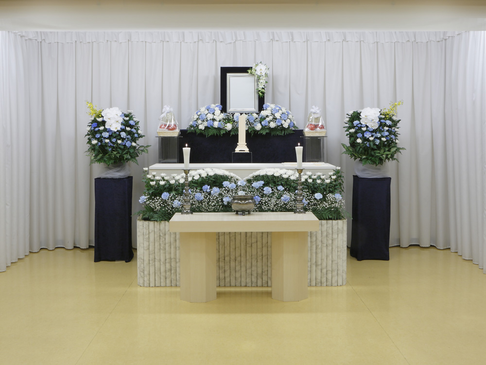愛典60花祭壇