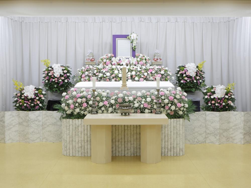 愛典80花祭壇